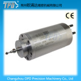 мотор шпинделя маршрутизатора CNC водяного охлаждения диаметра 4kw 100mm меля