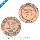 Moneta antica su ordinazione di memoria del ricordo di sfida del metallo 3D