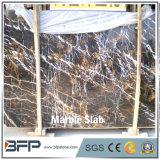Mármore natural da pedra M237 Portoro para a decoração do Plinth e do frame