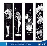 装飾のための超白い捺染の芸術ガラス