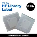 Etiqueta modificada para requisitos particulares de la biblioteca de la frecuencia ultraelevada de la insignia para la seguridad de ficheros