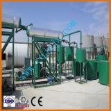 Planta Waste da refinaria de petróleo para a mudança preta da cor de petróleo do motor