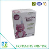 Zoll gedruckter faltbare Pappuppe-verpackenkasten