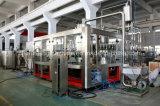 Remplissage de bouteilles de l'eau de jus et machines recouvrantes avec la qualité