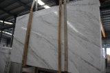 Chinseseの安く白い大理石の平板のVolakasの白い大理石のタイル