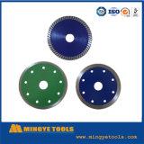 Lámina sinterizada de Cuting del diamante para de cerámica y de mármol