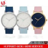 Yxl-035 Promoción cuero genuino reloj de mujer reloj de señora reloj de pulsera de diseño personalizado reloj de cuarzo