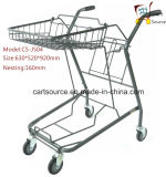 Japanese Two Baskets Bianjiexing Shopping Cart Shopping Trolley