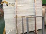 Lastra di marmo di legno bianca di marmo di legno del ghiaccio