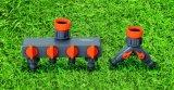 """Montaggi di tubo flessibile del giardino 3/4 """" - 1 """" adattatore femminile del colpetto di acqua del giardino dell'ABS"""