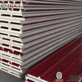 Pannelli a sandwich esterni dell'isolamento Panels/PU della parete