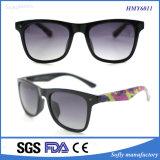 Xiamen-Modedesigner-bunter Bügel polarisierte Unisexsonnenbrillen