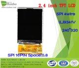 2.4 étalage de TFT LCD de pouce 240*320 Spi, Ili9341V, 16pin avec l'écran tactile d'option