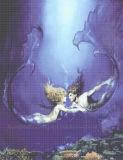 De Tegel van het Mozaïek van het Zwembad, het Mozaïek van het Glas van het Kristal (HSP332)
