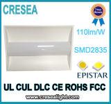 목록으로 만들어지는 상업적인 전등 설비 LED 2X4 50W Troffer 4000k Dlc UL cUL