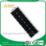 태양 옥외 램프 방수 40W는 1개의 LED 태양 가로등에서 모두를 통합했다