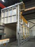 Forno di ricottura del focolare del carrello ferroviario per il trattamento termico