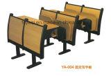 접히는 정제 (YA-002)를 가진 결합 학교 의자