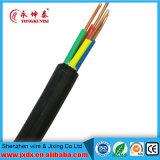 Fil de cuivre de contrôle électrique de fil solide de 4 faisceaux