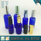 Frasco de petróleo essencial 5ml do vidro do azul de cobalto 10ml 15ml 20ml 30ml 50ml  100ml