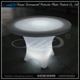 PE Rechargeable Colorful Plastic Shell LED Garden Table