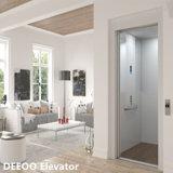 Ascenseur à la maison en verre de levage de petite mini villa bon marché d'intérieur de Chambre