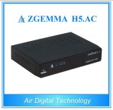 Decodificador da tevê de Canadá América México ATSC + sustentação H. 265 Zgemm H5 do receptor satélite DVB S/S2. C.A.
