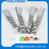 Wristband su ordinazione del poliestere di festival del tessuto di evento dell'elemento del ricordo