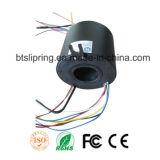 ISO/Ce/FCC/RoHSの穴のスリップリングを通した内部の穴60mmの米国軍用規格
