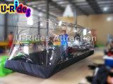 Coperchio trasparente gonfiabile dell'automobile della bolla