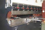 Máquina de dobra hidráulica da placa Wc67y-63X2500 de aço