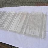 Feuille enduite de toiture de construction de matériau d'espace libre de couleur ondulée puissante de polycarbonate
