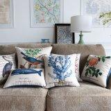 Il cuscino decorativo stampato di tela del cotone ha impostato per la camera da letto