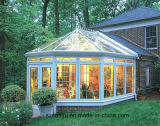 Sunroom de cristal de aluminio del patio del Sunroom del sitio de Sun de 4 estaciones