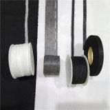 Tissu 100% de polyester pour les bandes encochées de interlignage tissées par taille de collier de chemise
