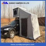 Kampierendes hartes Dach-Oberseite-Zelt des Shell-Fiberglas-4X4