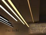 알루미늄 단면도 현대 사무실 LED 늘어진 선형 빛 (LT-35100)