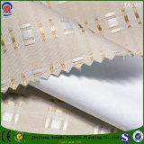 Tela impermeável tecida das cortinas de rolo do franco do poliéster da tela para a cortina do jacquard