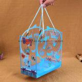 Le bébé tridimensionnel de sacs de cadeau de sacs de sac à main de PVC fournit des sacs de cadeau