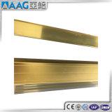 Directe Verkoop 6063 van de fabriek het Vierkante Industriële Profiel van Aluminium 6061 met Geanodiseerd Zilver