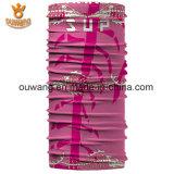 Écharpe tubulaire de polyester de collet multifonctionnel de Microfiber