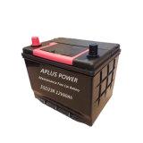 Batterie normale de taxi de JIS Mf 55D23r 12V60ah d'une capacité plus élevée