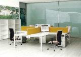 Silberne bequeme moderne Büro-Stuhl-Konferenz-Stuhl-Büro-Möbel