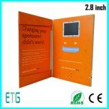 熱い販売および安い2.8インチLCDの挨拶状