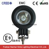 Ginto 10W * 1PCS CREE Mini LED de luz de trabajo para la motocicleta (GT1023D-10W)
