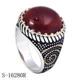 Ring van Hotsale van de fabriek de Echte Zilveren voor de Mens