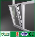 Finestra di alluminio di girata di inclinazione del materiale da costruzione con vetro Tempered