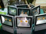 최신 판매 높은 광도 좋은 품질 LED 플러드 빛 AC85-265V는 IP65를 방수 처리한다