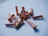 Rebabes de acero de alta calidad L10 semi tubulares para el uso de la guarnición de freno