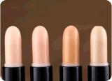 Produit de beauté crème de forme de beauté de bâton de crayon lecteur de face de renivellement de Concealer de Double-Fin